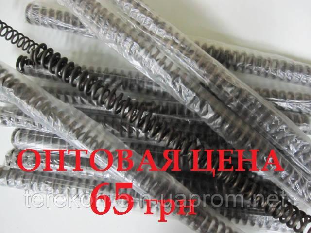 Пружина стиснення іжевська посилений подвійний (одна в одну) для воздушок іж-38, іж-22, іж-53, іж-61, іж-60, мр-51