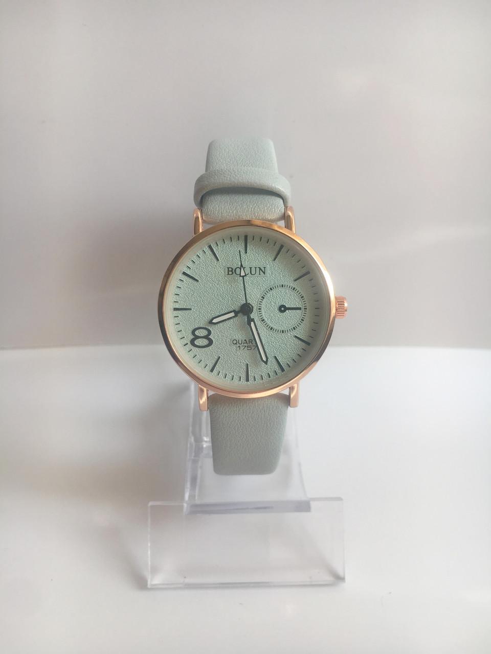 Женские наручные часы Bolun (Болун), золотисто-голубой цвет ( код: IBW218YL )