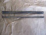 Пружина стиснення іжевська посилений подвійний (одна в одну) для воздушок іж-38, іж-22, іж-53, іж-61, іж-60, мр-51, фото 5