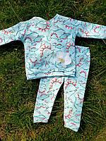 Пижама детская рост 74/80