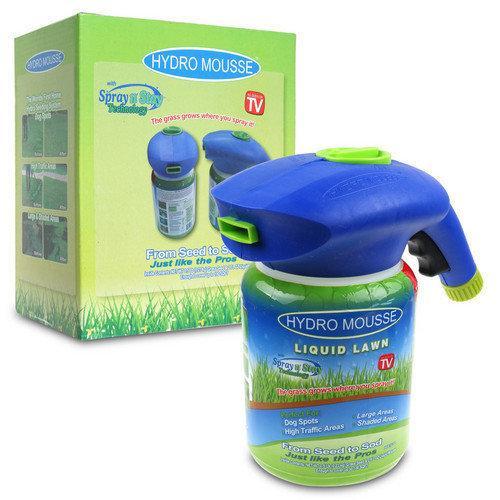 Распылитель для жидкого газона плюс жидкость Hydro Mousse