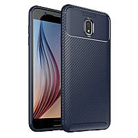 Чехол Carbon Case Samsung Galaxy J7 2018 Синий
