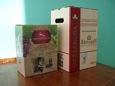 КОРОБКА Bag in Box с полноцветной печатью