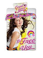 Комплект постельного белья 969 Faro 3175 Розовый, Желтый
