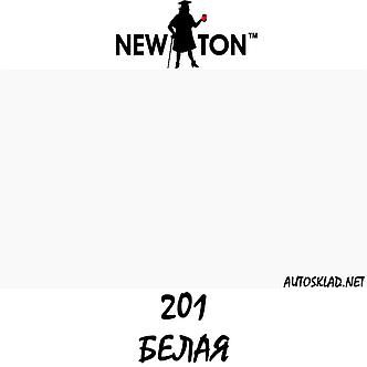 Карандаш для удаления царапин и сколов краски New Ton 201 Белый 12мл, фото 2