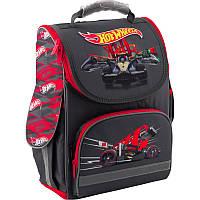 """Рюкзак школьный каркасный """"трансформер"""" Kite 500 Hot Wheels HW19-500S, фото 1"""