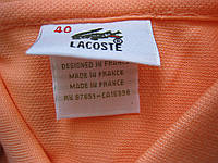 LACOSTE женские футболки поло lacoste лакоста  лакосте, фото 1