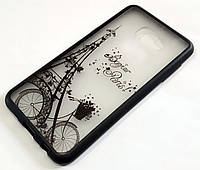 Чехол Yotoo пластиковый для Samsung Galaxy C5 c5000 / C5 Pro с рисунком Париж