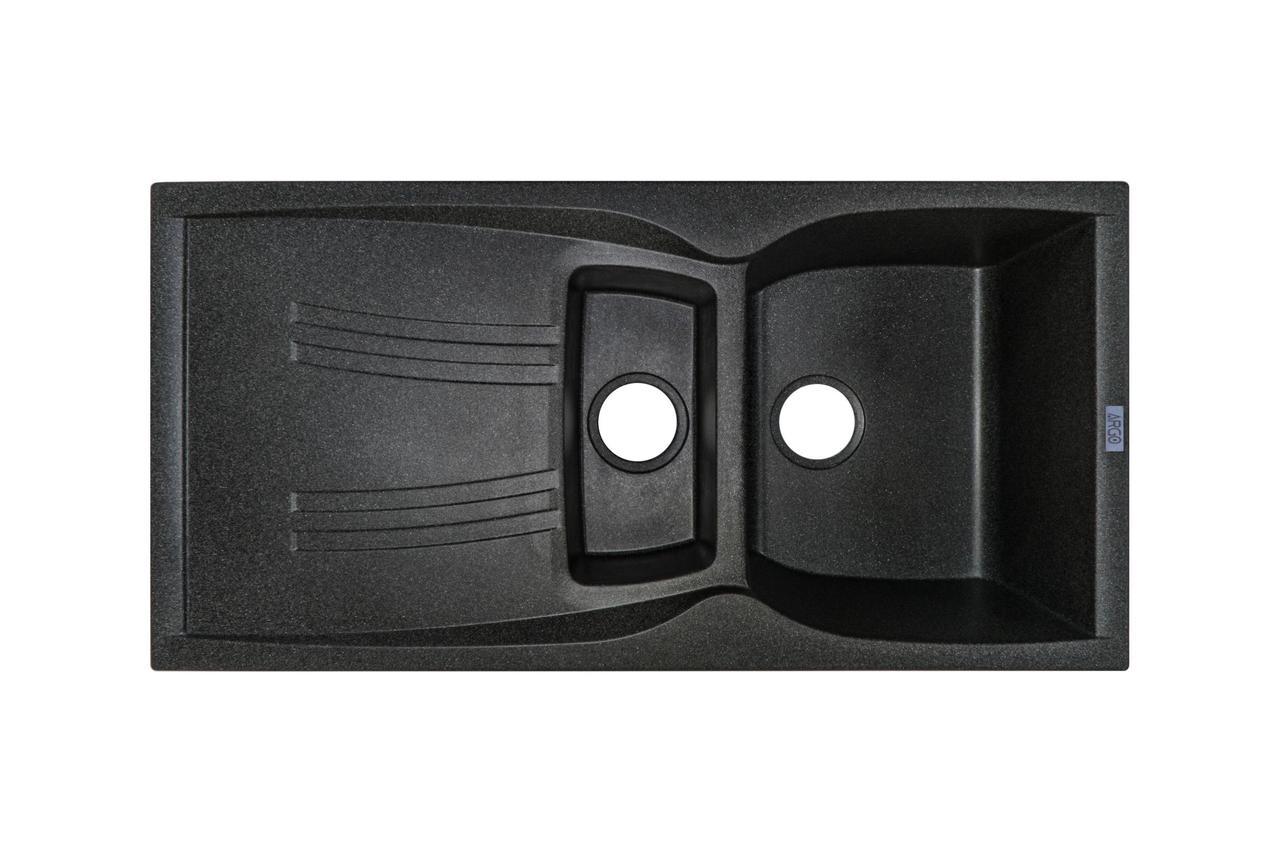 Гранітна плита, мийка Argo MEDIO PLUS (99*50) Графіт