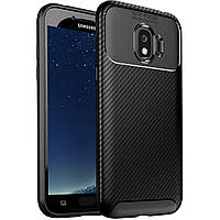 Чехол Carbon Case Samsung J2 Pro 2018 Черный