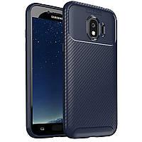 Чехол Carbon Case Samsung J2 Pro 2018 Синий