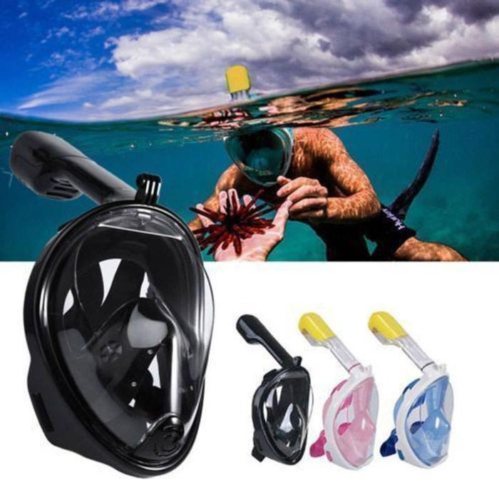 Маска для снорклинга, полнолицевая маска для подводного плавания Easybreath, Free Breath