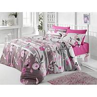 Двуспальное постельное бельё Zambak 11276 CB10