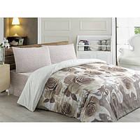 Турецкое Двуспальное постельное белье Anatolia 9616-01 CB09