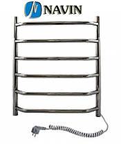 Полотенцесушитель электрический Блюз 480 х 600 Navin (без терморегулятора), фото 3