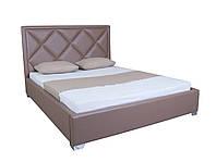 Кровать двуспальная мягкая Доминик Melbi. Ліжко двоспальне м'яке
