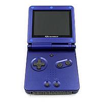 Портативная игровая приставка Game Boy Advance SP (синий) + TFT переходник