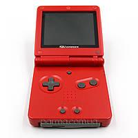 Портативная игровая приставка Game Boy Advance SP (красный) + TFT переходник