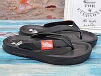 ✅ Вьетнамки мужские Adidas Адидас шлепки черные