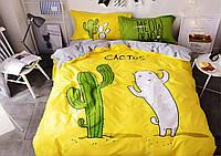 Двуспальный комплект постельного белья из ранфорса 100 % хлопок