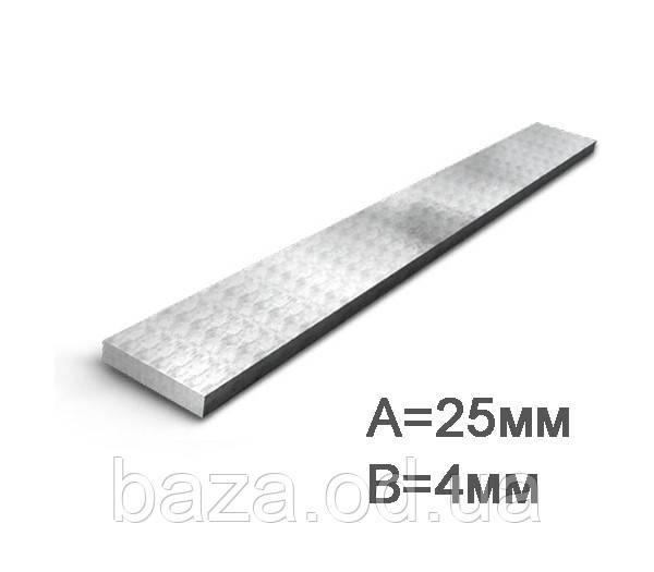 Полоса стальная 25x4 мм мера