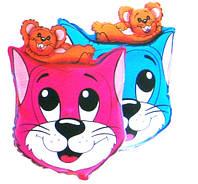 Фольгированный шар 901601 Кот и мыша