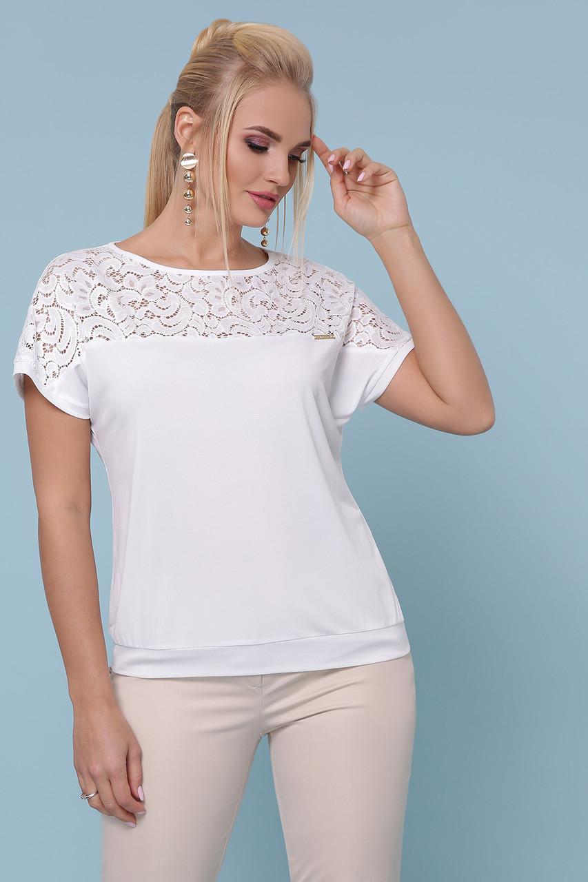 Женская блуза белая Астрид-Б б/р
