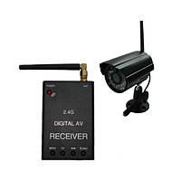 Новый цифровой комплект беспроводного видеонаблюдения 540 TVL с детектором движения (модель KENVS B01kit)
