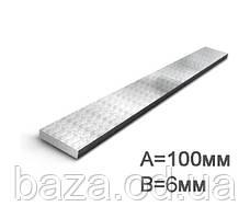 Смуга сталева 100x8 мм міра