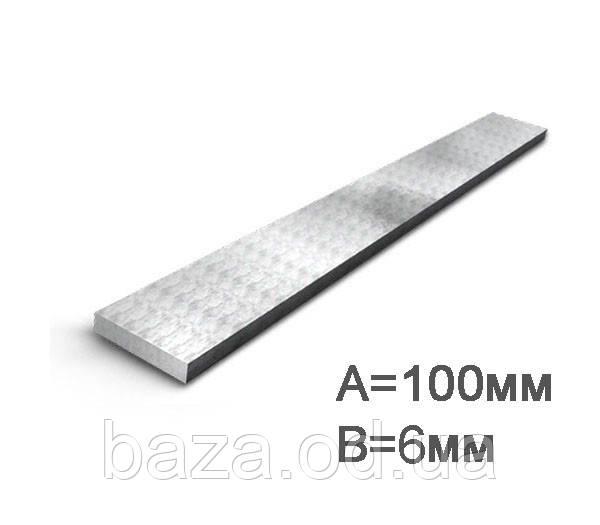 Полоса стальная 100x8 мм мера