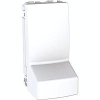 MGU3.860.18. Адаптер для подсоединения кабеля. 1-модульный. Белый Unica