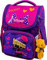Рюкзак Winner stile 2026 ортопедический школьный для 1-4 классов для девочки 26 см * 14 см * 34 см, фото 1