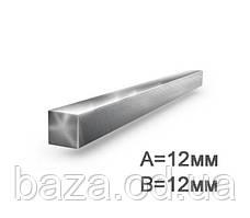 Квадрат металлический 12x12 мм