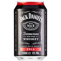 Оригинальный напиток Jack Daniel's Cola 330 ml ж/б 6% Alc.
