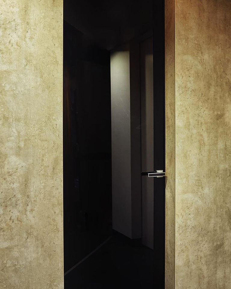Дверное полотно под скрытый монтаж   Комплект профилей дверного полотна под коробку  В2100х900