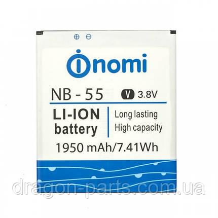 Аккумулятор Nomi i505 (АКБ, Батарея) NB-55, оригинал, фото 2