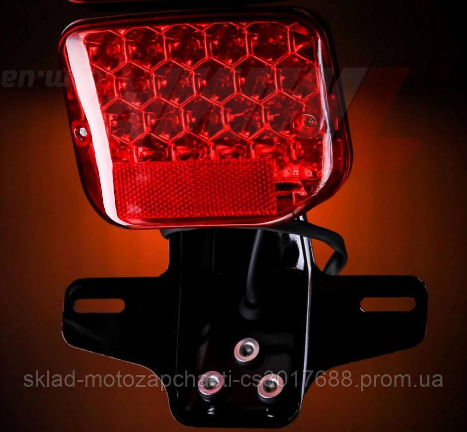 Стоп сигнал для мотоциклов LED ( светодиодный ) всеостанавливающий стоп
