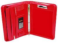Женская деловая папка A4 из искусственной кожи AMO SSBW04 красный