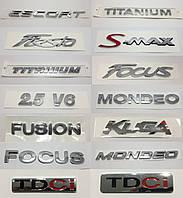 Эмблемы надписи багажника Ford Focus Mondeo Fiesta Fusion Kuga Titanium
