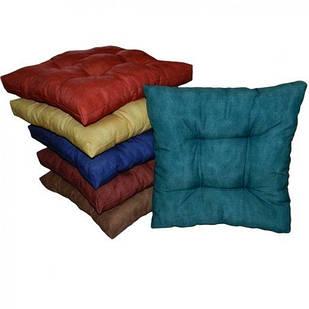 Подушка на стілець кольорові 40х40 см