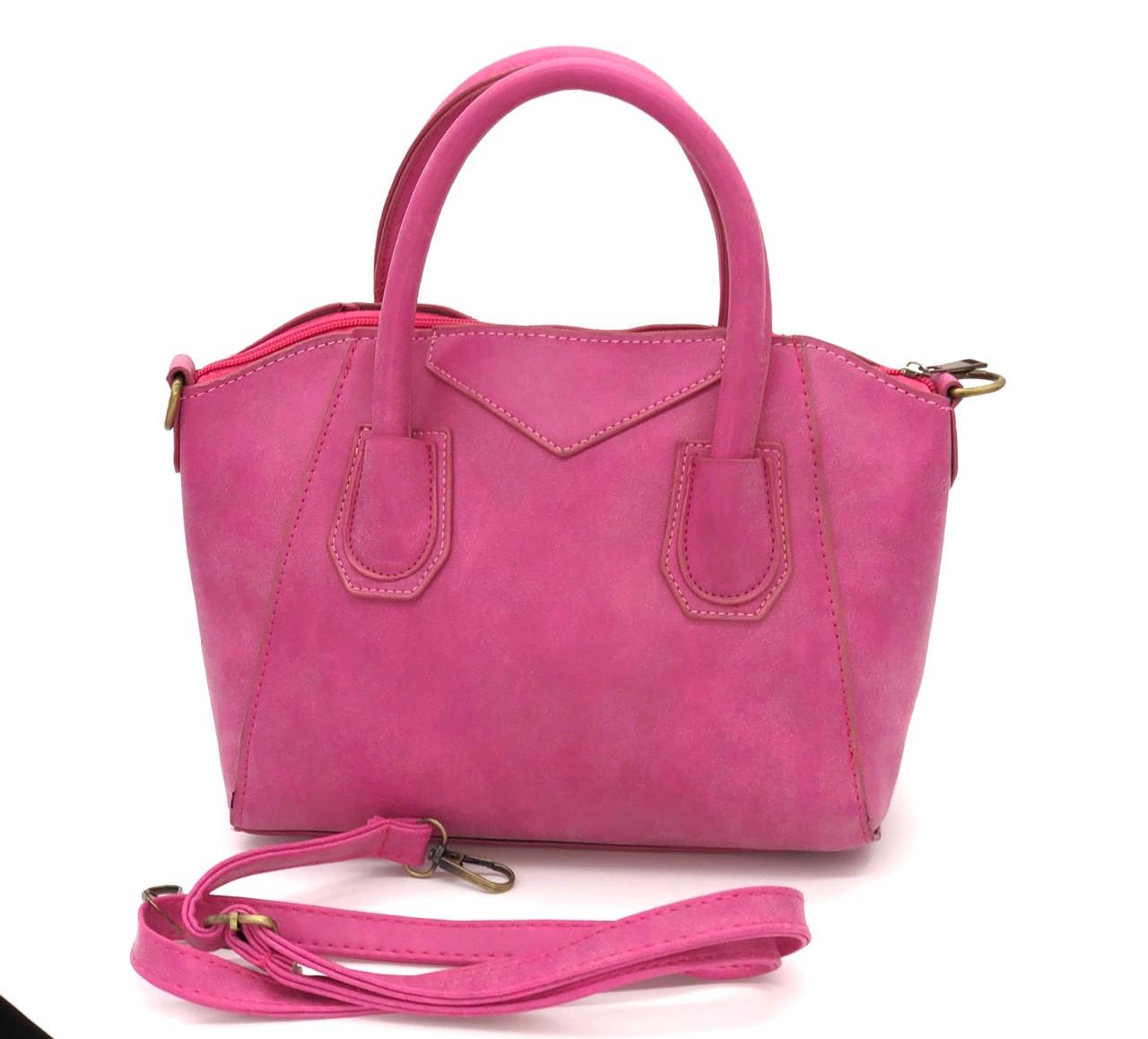 Женская сумка с ручками классическая Lightness Розовая