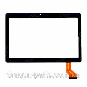 Сенсор (тач) Nomi C10105 MJK-0692 FPC Черный Black, оригинал