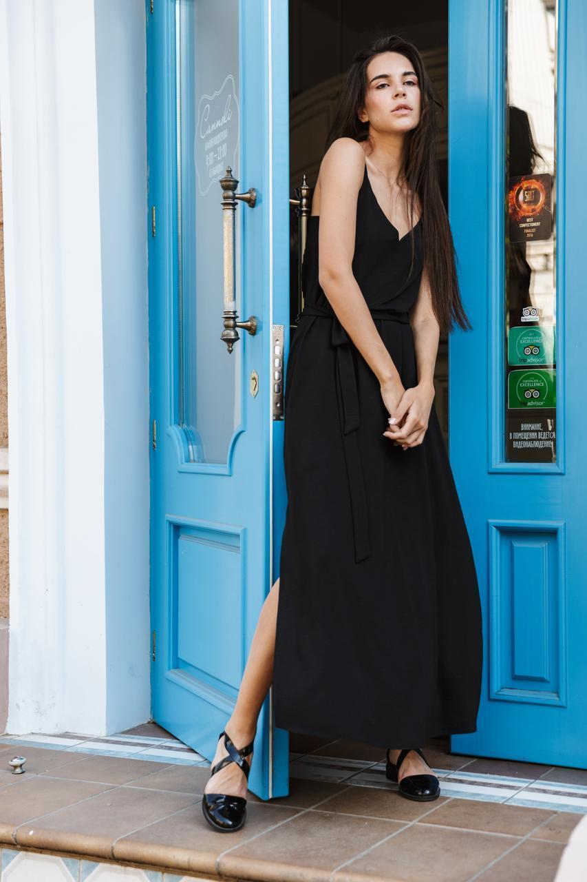 Платье LiLove 1-011/1 46-48 черный