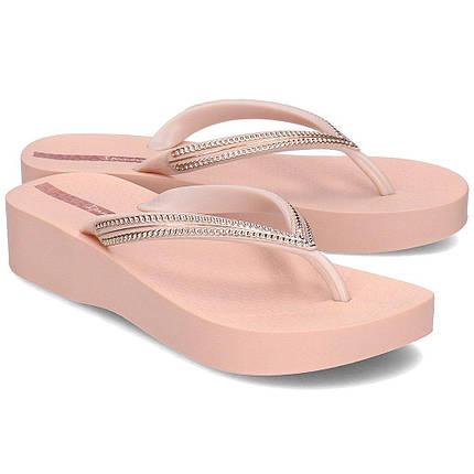 Оригинал Босоножки Женские 82527-20791 Ipanema Mesh IV Plat woman slipper Pink, фото 2