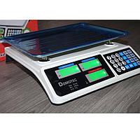Торговые электронные весы с калькулятором Domotec MS-228 6V до 50 кг