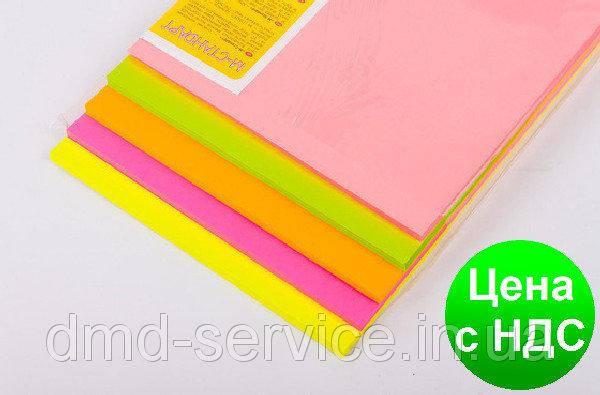 "Бумага A4 ""М-Стандарт"" микс (NEON) 250 листов/5 цветов, фото 2"