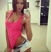 "Стильная молодежная майка "" Цветная "" Dress Code"