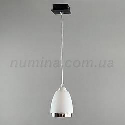 Люстра подвесная на одну лампу 1-70039/1P BK+MK пл.