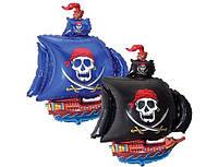 Фольгированный шар 901669 пиратский корабль