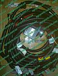 Ремень R210808 компрессора John Deere V-BELT, DRIVE W/AIR PUMP r210808 пас 761979.0, фото 4